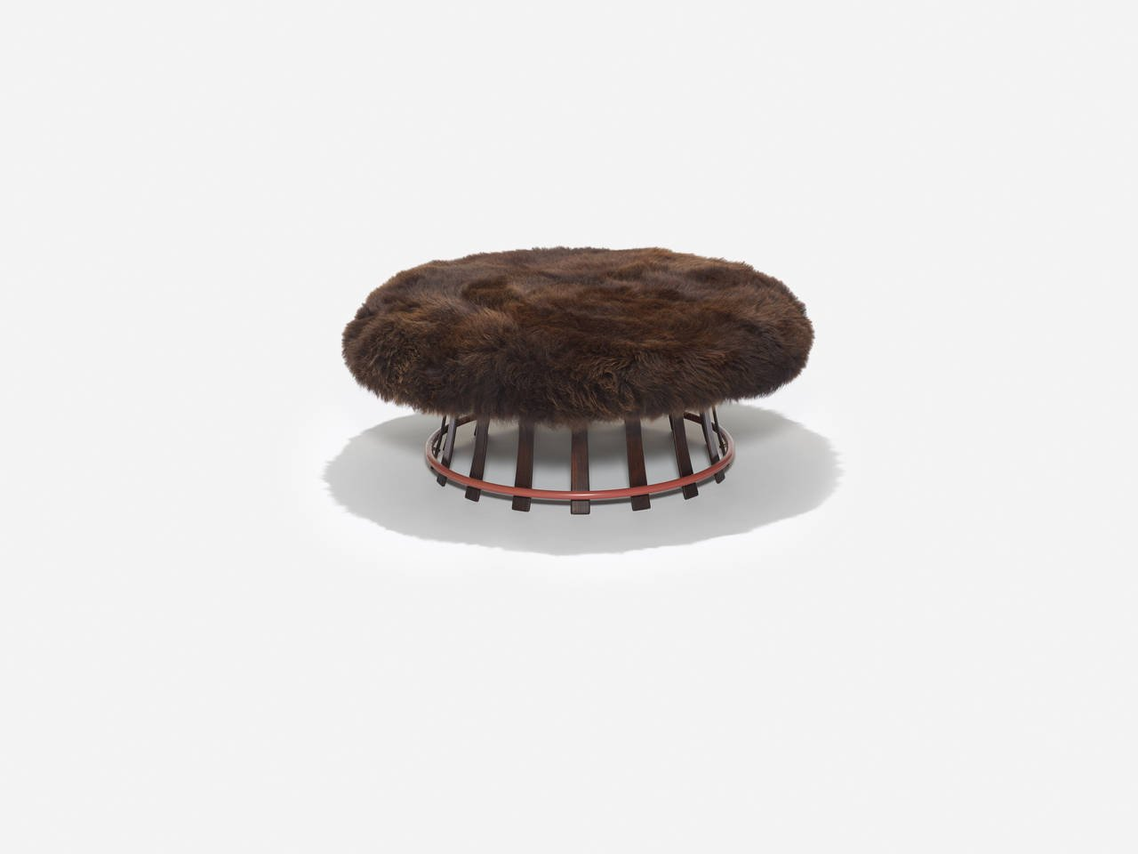 Edward Wormley for Dunbar Toadstool Ottoman, 1967 - The Exchange Int