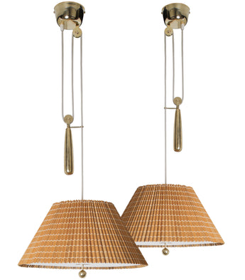 Paavo Tynell Counter Balance Lights, Model 1968, Taito Oy, 1940s