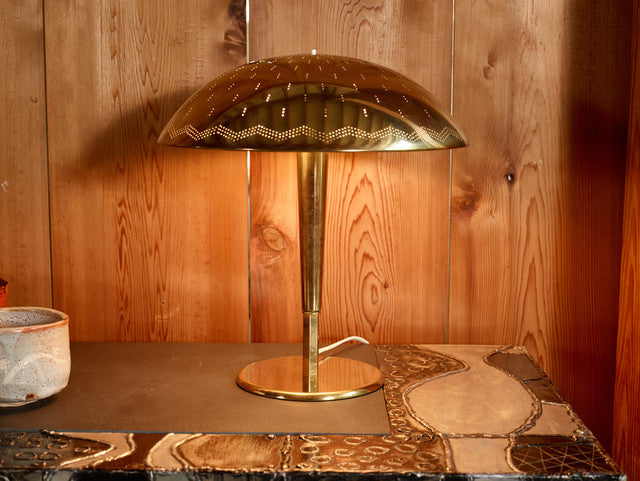 Paavo Tynell Table Lamp, Model 5061 ca. 1949, Pair Available