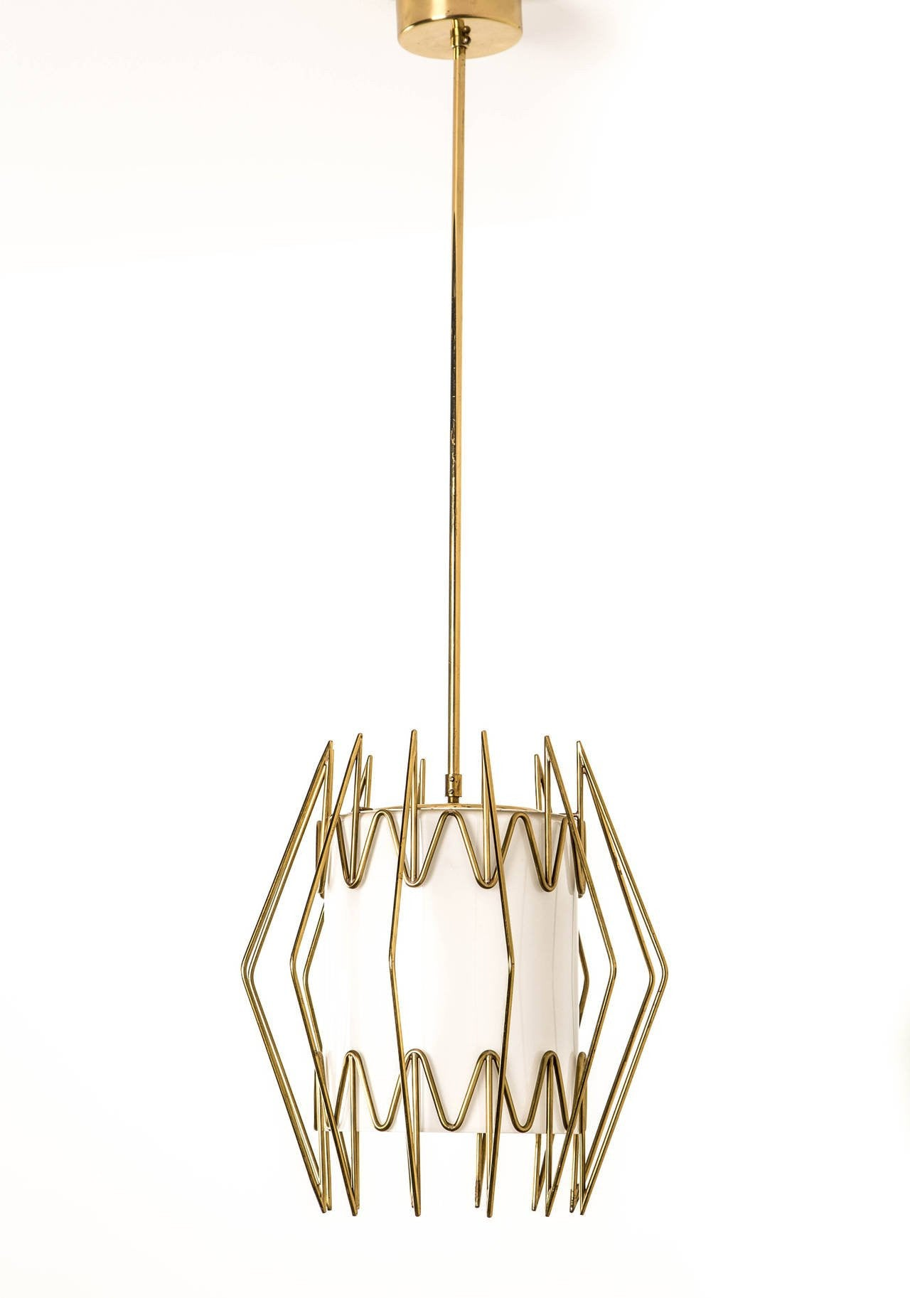 Paavo Tynell Ceiling Lamp Made for the Borough Hall at Mikkeli Parish - The Exchange Int