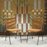 Allan Gould Pair of String Chairs, 1952 - The Exchange Int
