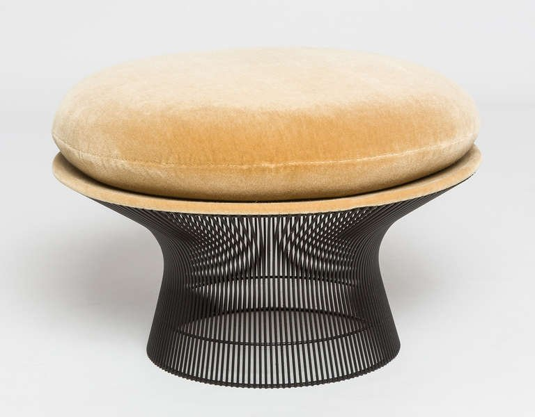 Bronze Warren Platner Seating for Knoll (2 chairs, 1 settee, 1 ottoman) 1966 - The Exchange Int