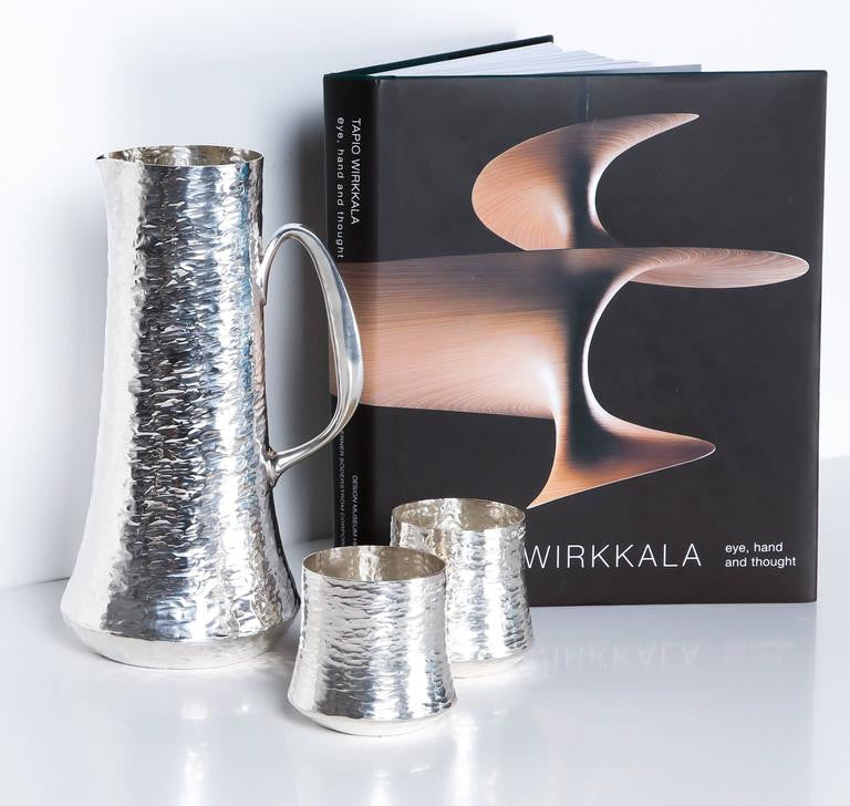 Tapio Wirkkala, Set of Silver Pitchers and Cups, 18 Pieces, Finland 1970s - The Exchange Int