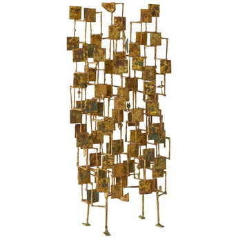 "Early Harry Bertoia ""Multi-Plane"" Sculpture, circa 1950's - The Exchange Int"