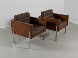 Pair of Harvey Probber Cube Chairs, 1960s - The Exchange Int