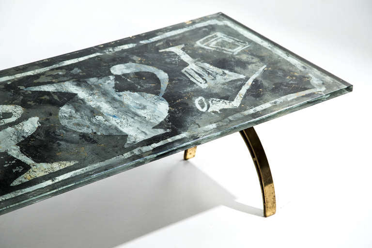 Dube 'Duilio Barnabe' Fontana Arte Coffee Table, 1955 - The Exchange Int