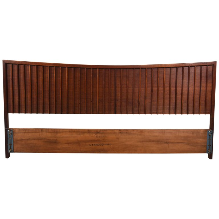 Walnut Origins Headboard by George Nakashima for Widdicomb, 1950s