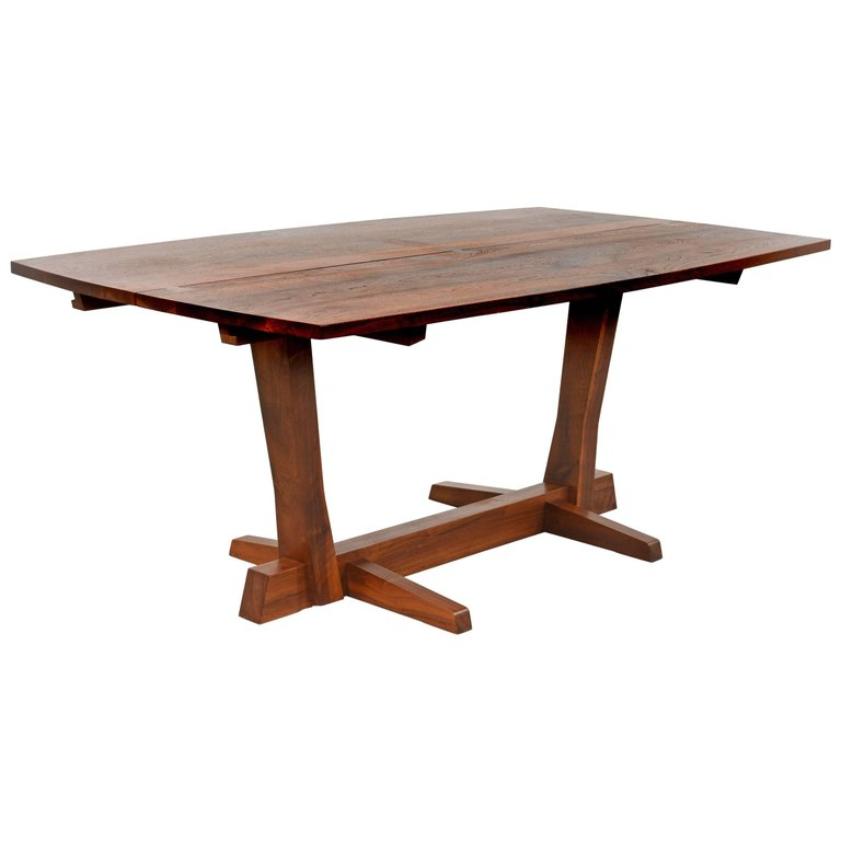Early George Nakashima Conoid Dining Table, 1965