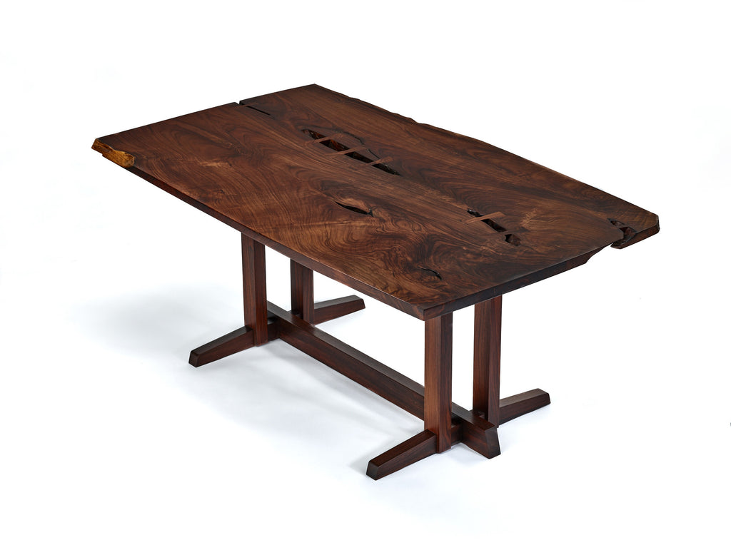 "George Nakashima Masterwork ""Single Board"" Solid Rosewood Table"
