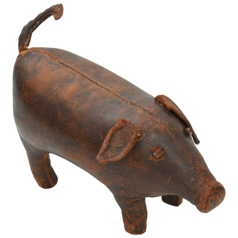 Pig Ottoman by Dimitri Omersa for Abercrombie and Fitch, 1960s - The Exchange Int