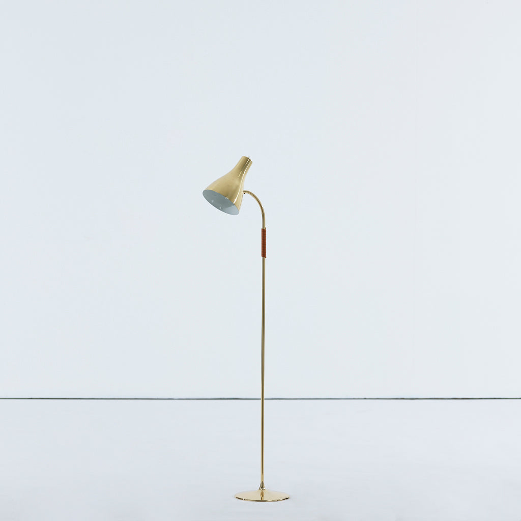Paavo Tynell Floor Lamp, Model 9607, 1940s - The Exchange Int