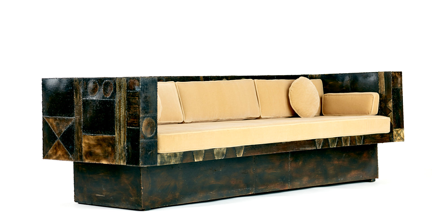 One of a Kind Paul Evans Studio Sofa, 1960s - The Exchange Int