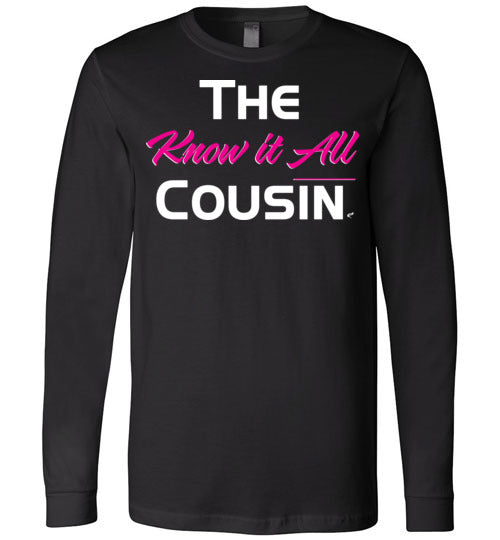 Know It All Cousin Pink