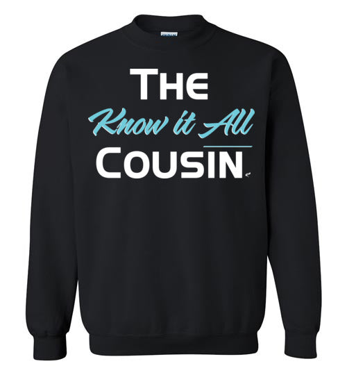 Know It All Cousin Blue