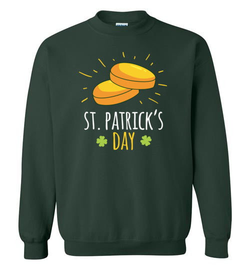 St. Patrick's Day Gold Coins