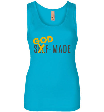 God Made Womens Tank