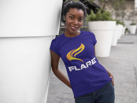 Flare Logo Ladies T Shirt