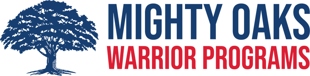 Die-Cut Mighty Oaks Warrior Programs Sticker (8.8 Inches)