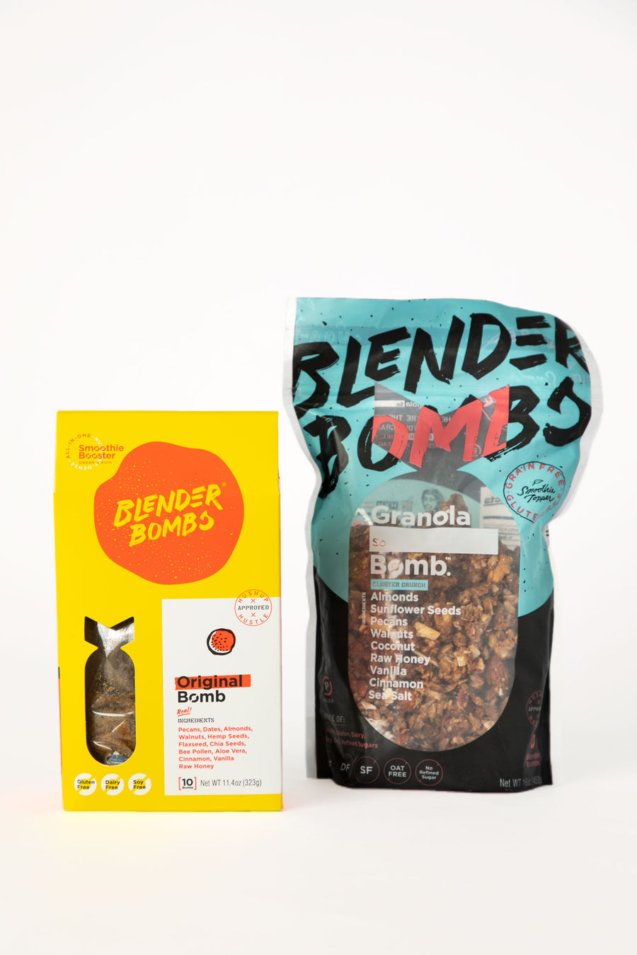 Blender Bombs + Granola
