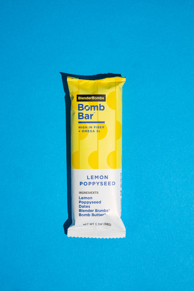 Bomb Bars - Lemon Poppyseed