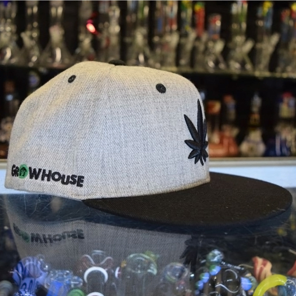 "Cali ""Grow House""  Retro Flat Bill"