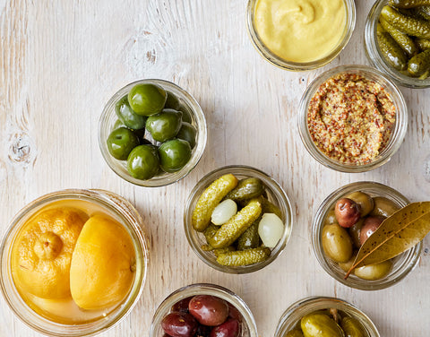 Olives, Vegetables & Condiments