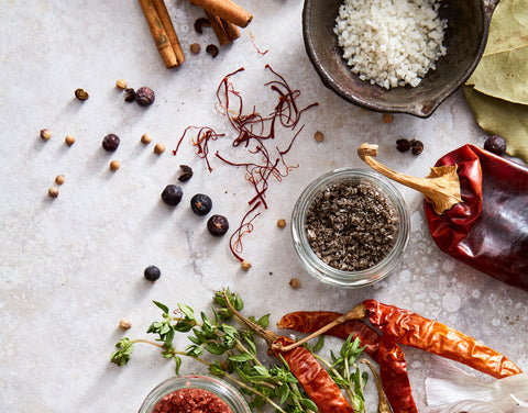 Spices, Salts & Chilies