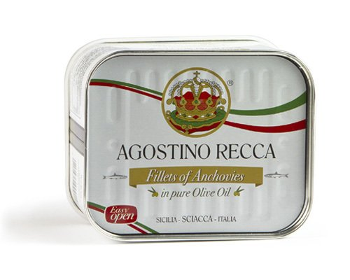Anchovies In Oil Italy 12/25 Oz