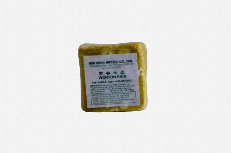 Wonton Thin Skins Frozen 16oz
