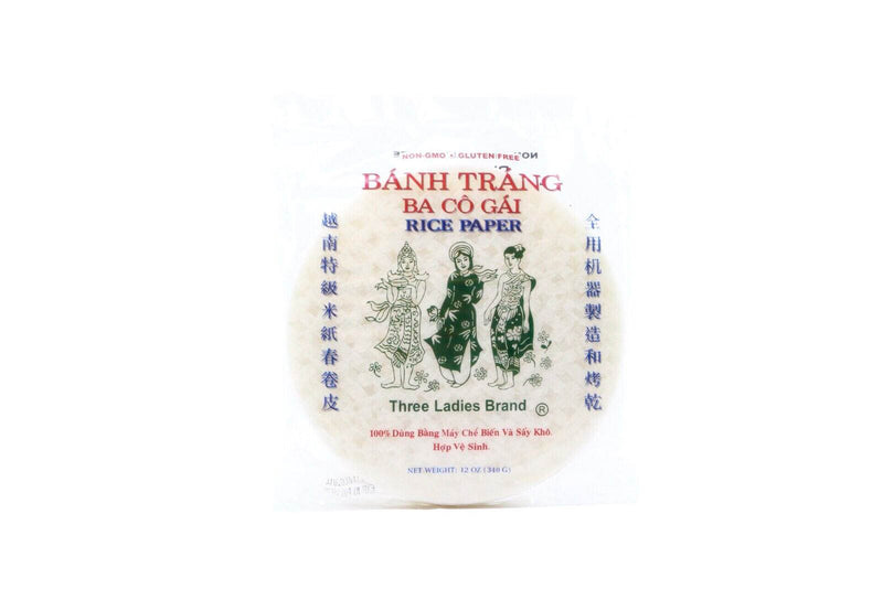 Rice Paper For Springrolls 8 Inch 12oz