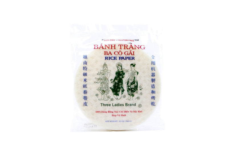 Rice Paper For Springrolls 6 Inch 16oz
