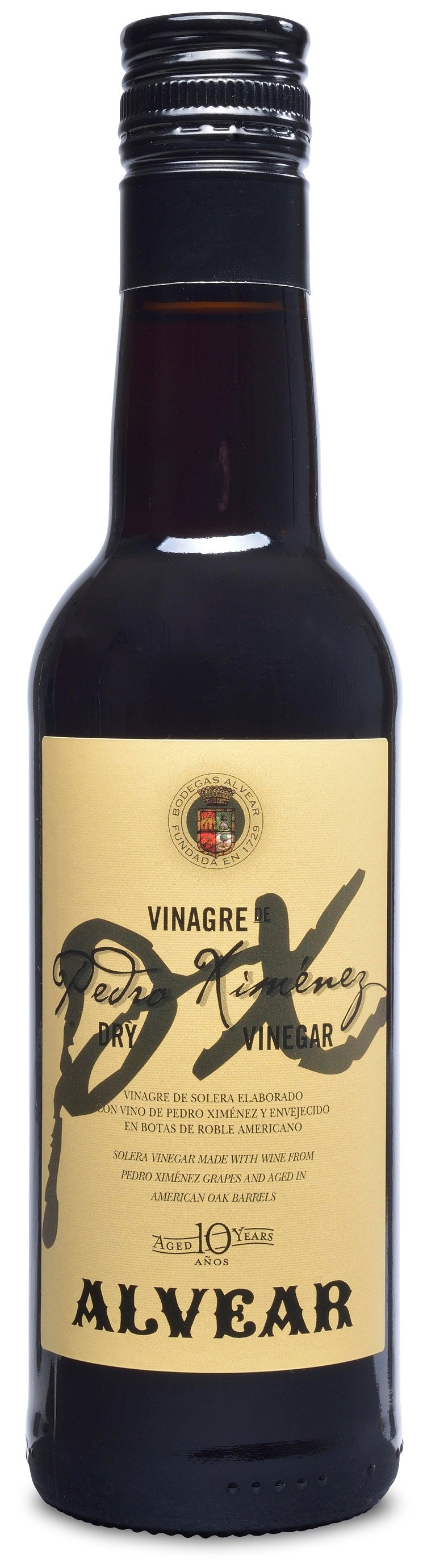 Px Vinegar Dry 10 Yr Spain: 375 Ml