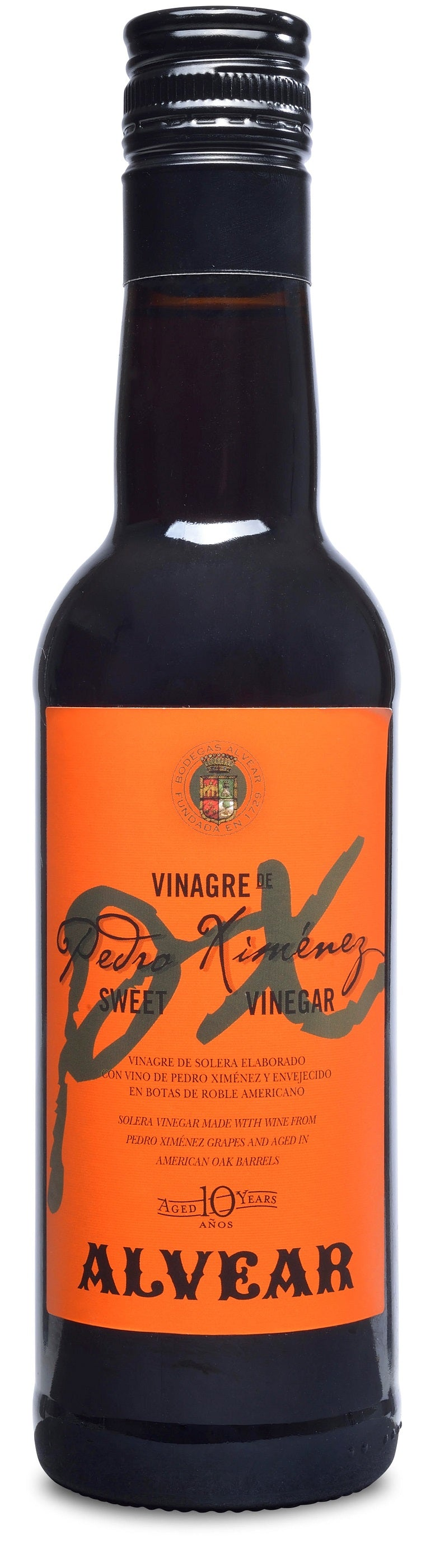 Alvear Pedro Ximenez Vinegar Sweet 10 Yr Spain 375 Ml