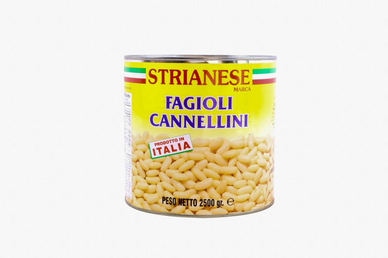 Cannelini Beans Canned: 2.6kg