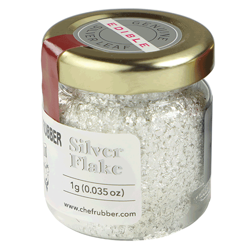 Silver Flakes Pure: 1gr