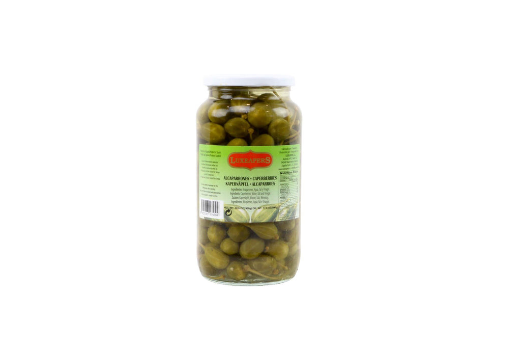 Caperberries With Stem, Spain 6/32 Oz