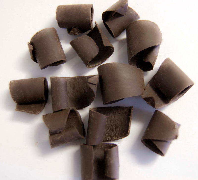 Large Dark Chocolate Shavings: 4lbs