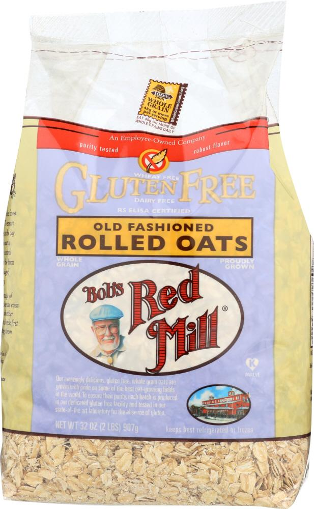 Rolled Oats - Gluten Free: 4 x 32oz Case