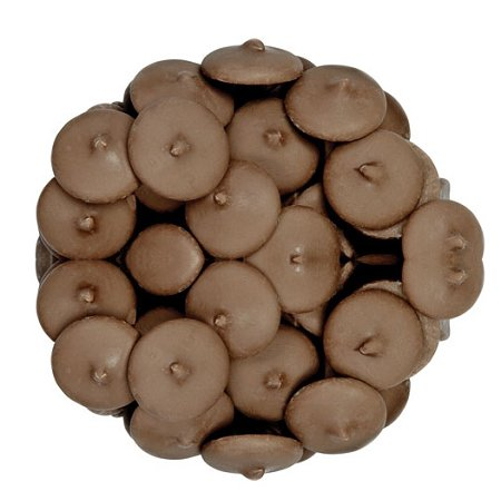 Dark A'Peels Chocolate Wafers: 25lbs