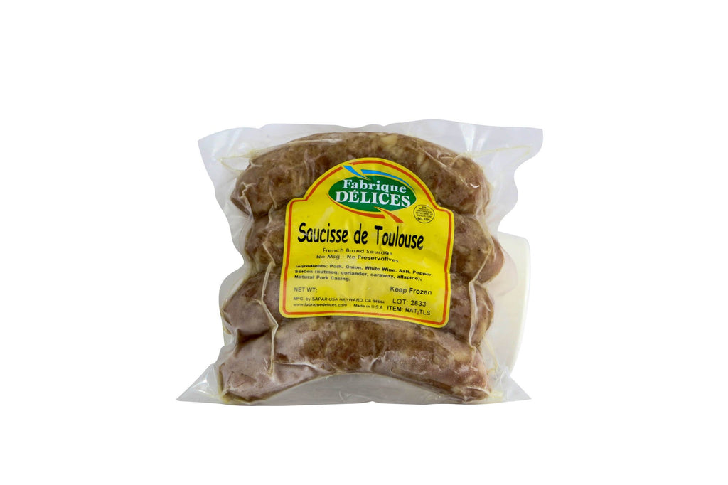 Toulouse Sausage 4 Links 10/1 Lb* Approx Weight (Price by lb)
