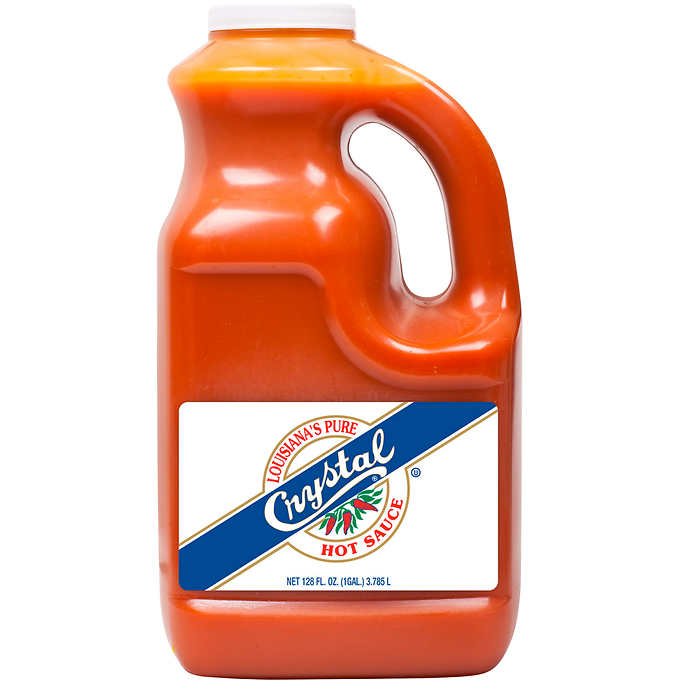 Crystal Brand Hot Sauce: 1gal