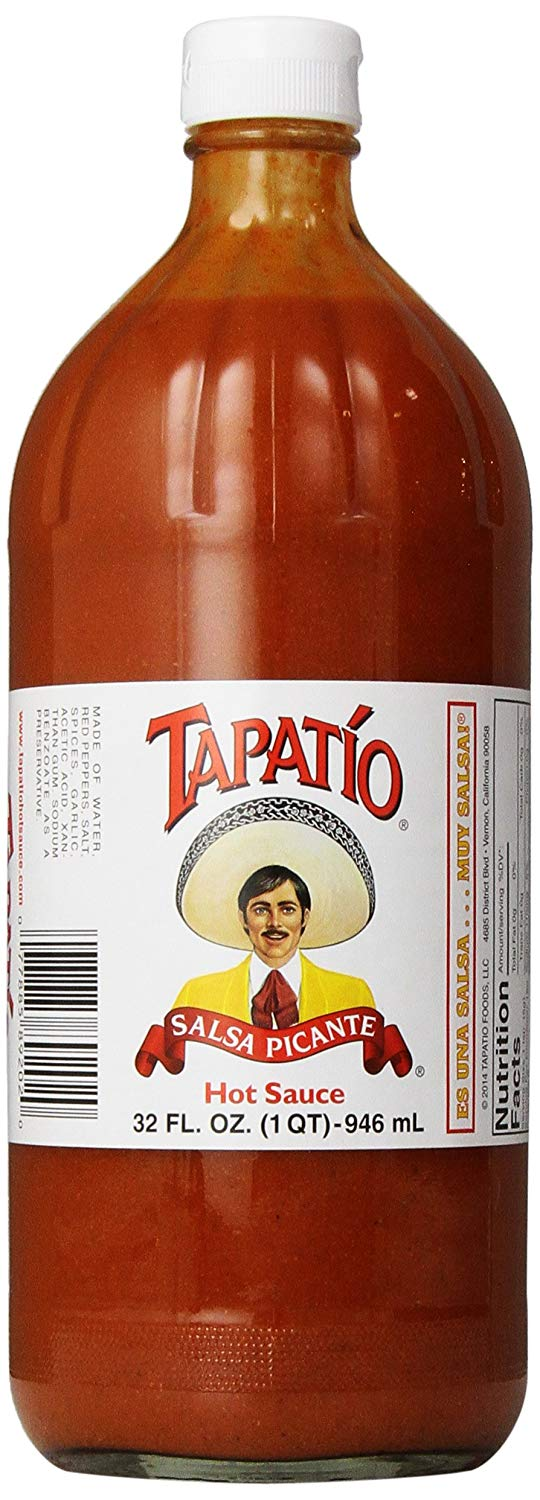 Tapatio Hot Sauce: 32oz