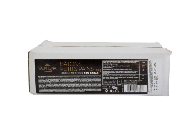 Chocolate Batons 55% Premium: 300ct