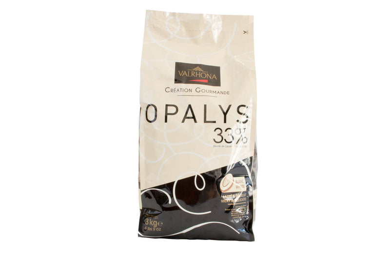 Opalys 33% White Feves: 3kg