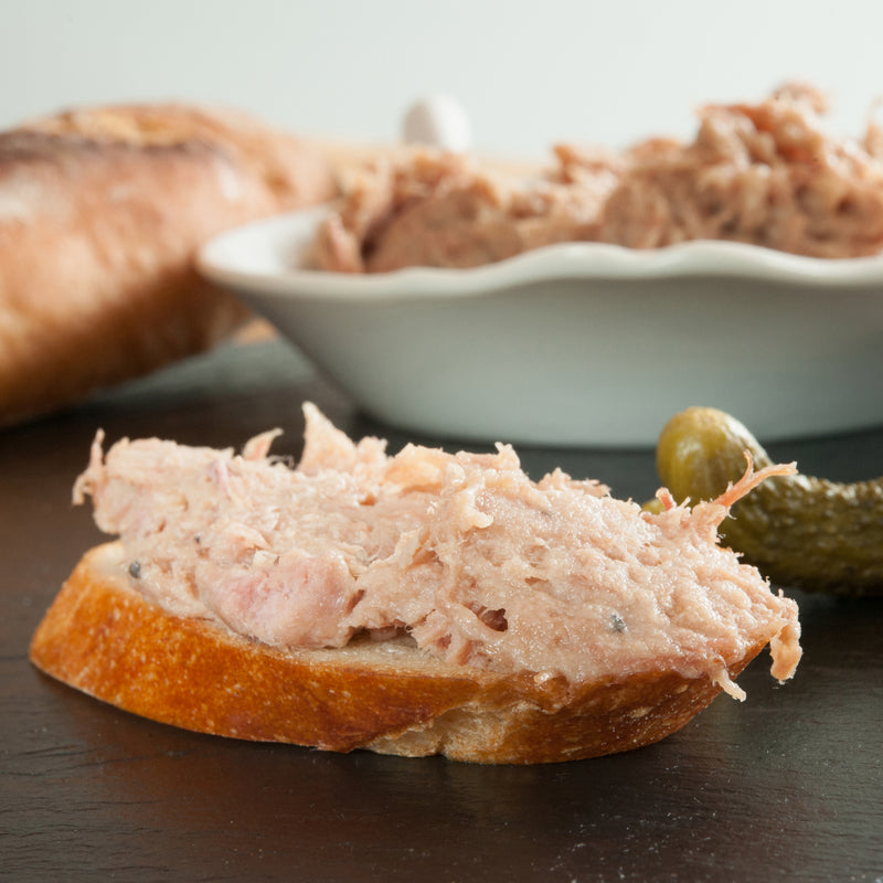 Duck Rillettes: 1kg (Approximate Weight)