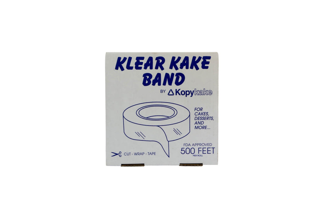 Acetate Cake Bands 2.5 Inch 500 Ft