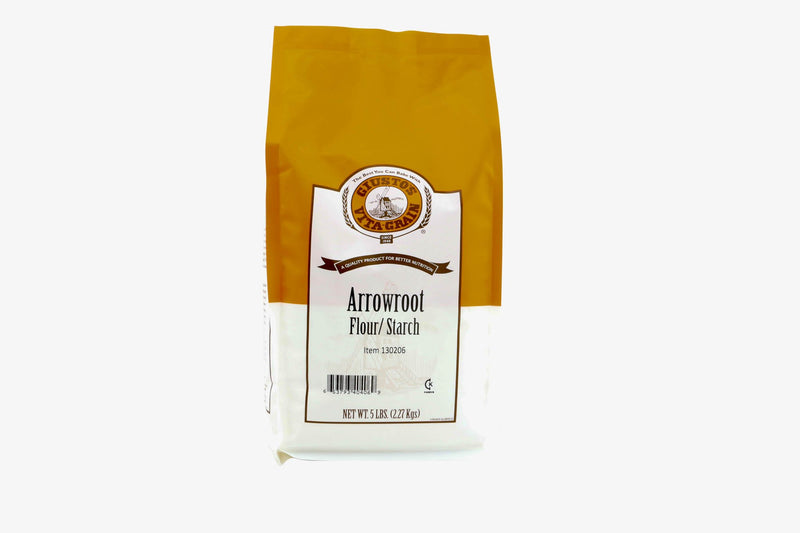 Arrowroot Powder: 5lbs