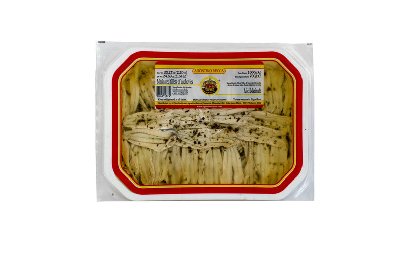 Anchovies White Marinated: 1kg