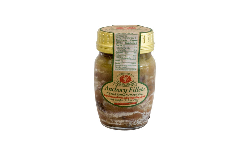 Anchovy Filets In Oil: 90gr