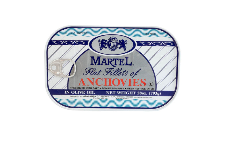 Anchovies In Oil: 28oz
